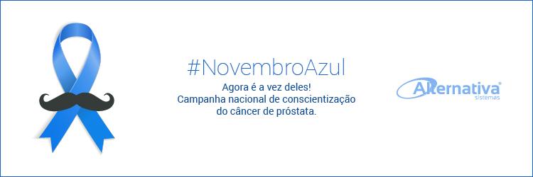 Alternativa Sistemas apoia a campanha Novembro Azul