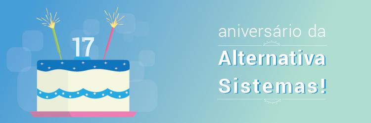 Aniversário da Alternativa Sistemas - 17 anos