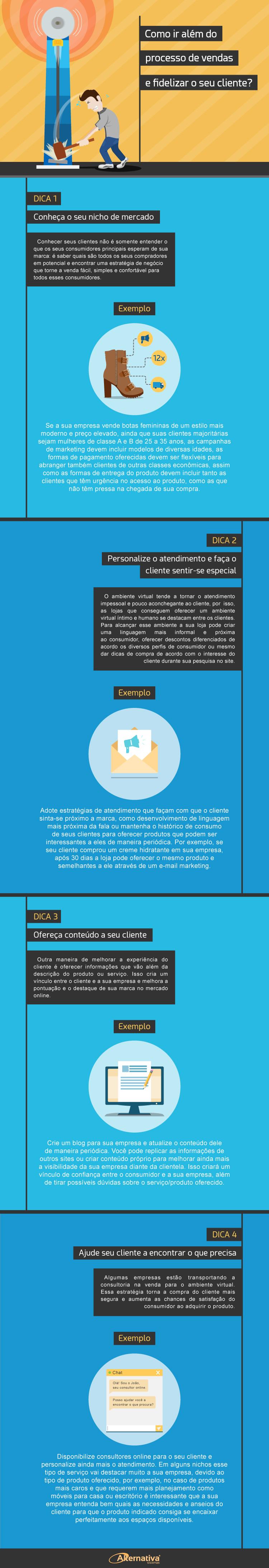 Infográfico---Dicas-para-transformar-vendas-em-experiencia-de-consumo---Alternativa-Sistemas