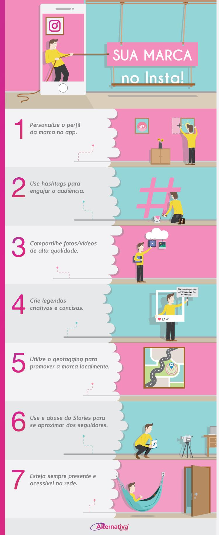 infografico-sua-marca-no-instagram---Alternativa-Sistemas