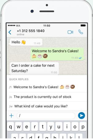Whatsapp business automação - Blog Alternativa Sistemas